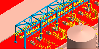 pipe-rack-3d-model