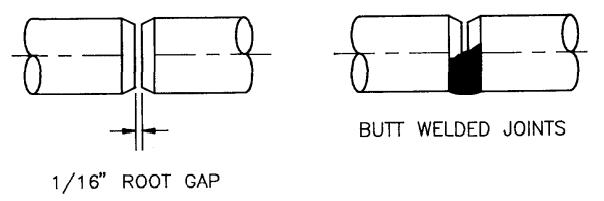 Butt-weld-joint