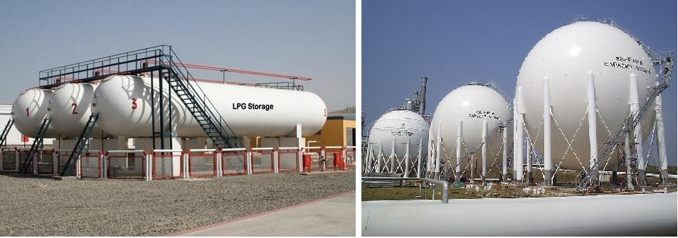 LPG Storage Vessels