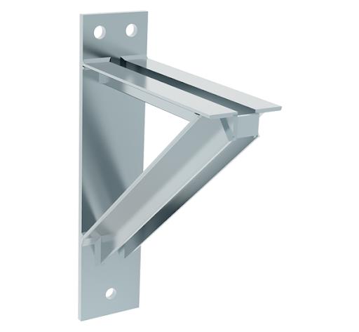 heavy welded steel bracket