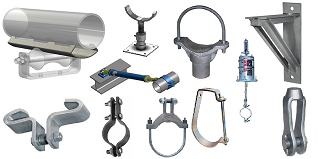 Pipe support clamps and hangers